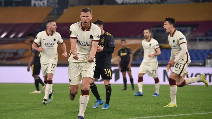 La Roma derrota a Ajax y avanza a semifinales de Europa League; conoce contra quién va