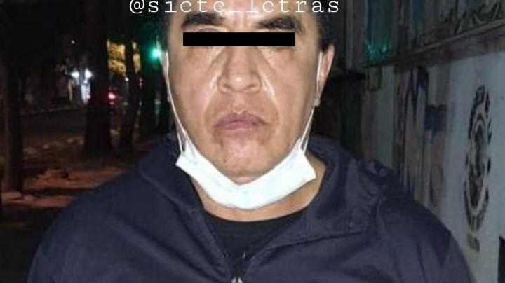 Capturan a 'El Castor' en CDMX; se le conocía por robos a Susana Zabaleta y a Jorge Falcón