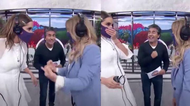 """""""Me la pel..."""": Andrea Legarreta deja helado a Televisa al gritar grosería en 'Hoy'"""