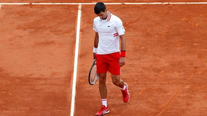 Novak Djokovic se derrumba ante Evans en el Masters 1000 de Montercarlo