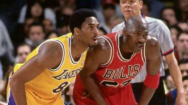 De leyenda a leyenda; Michael Jordan presentará a Kobe Bryant para el Salón de la Fama