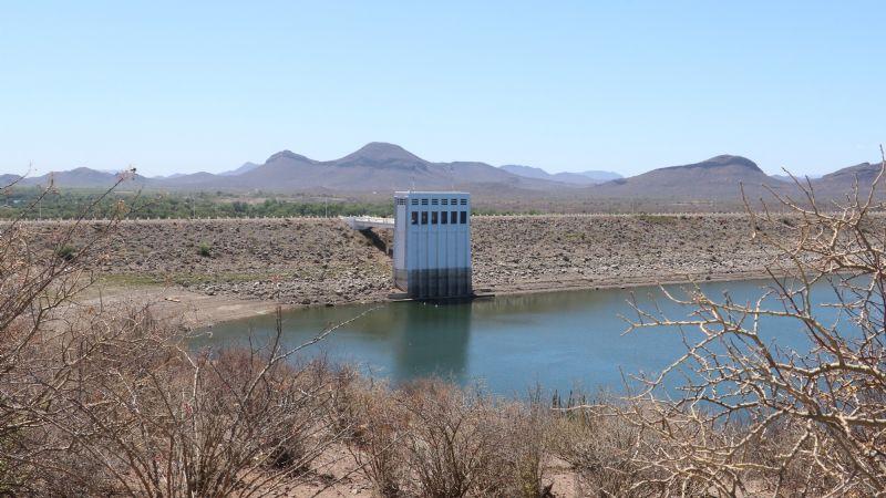 Sonora, una de las entidades con las presas más 'secas' del país