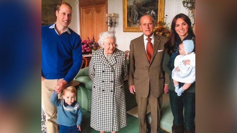 Príncipe William habla de la muerte del Príncipe Felipe con sus hijos; así reaccionan