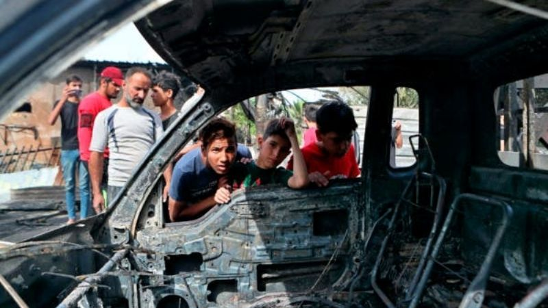 (VIDEO) Ataque terrorista: Explosión de coche bomba en Bagdad deja 5 muertos y 21 lesionados