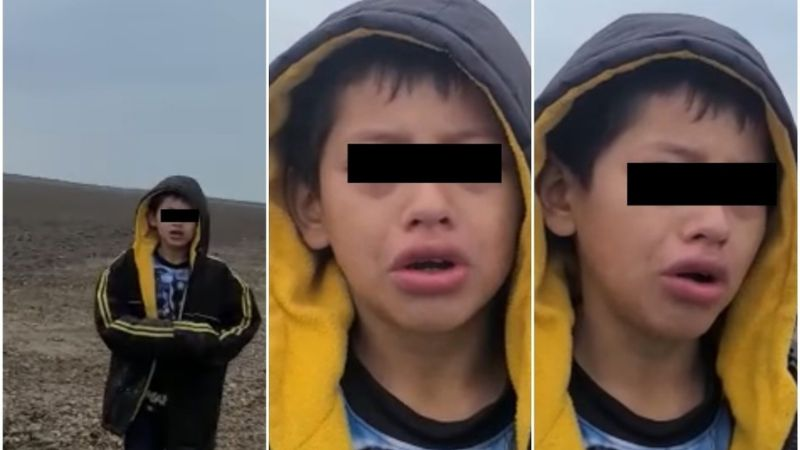 Hallan a madre de niño abandonado en la frontera; su hermano asegura que estaba secuestrada
