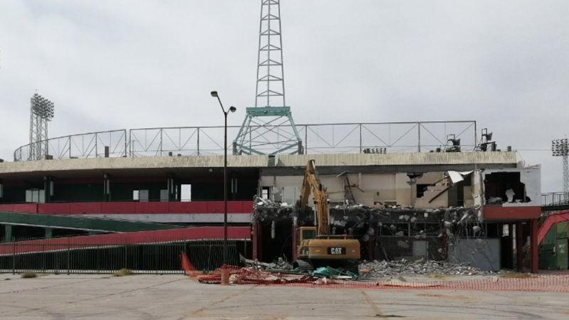 Comienza demolición del estadio Héctor Espino; esto pasará con la antigua casa de Naranjeros