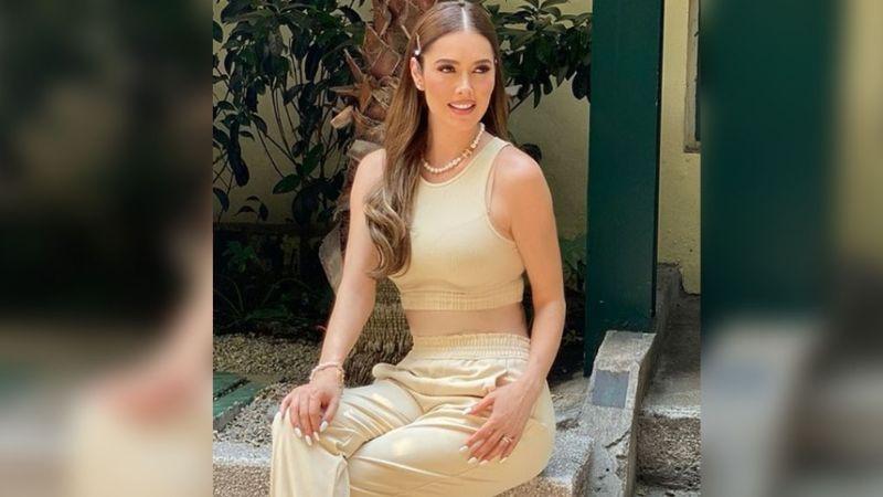 Con FOTOS en faja y tremendo vestido, Marlene Favela hace estallar a todo Instagram