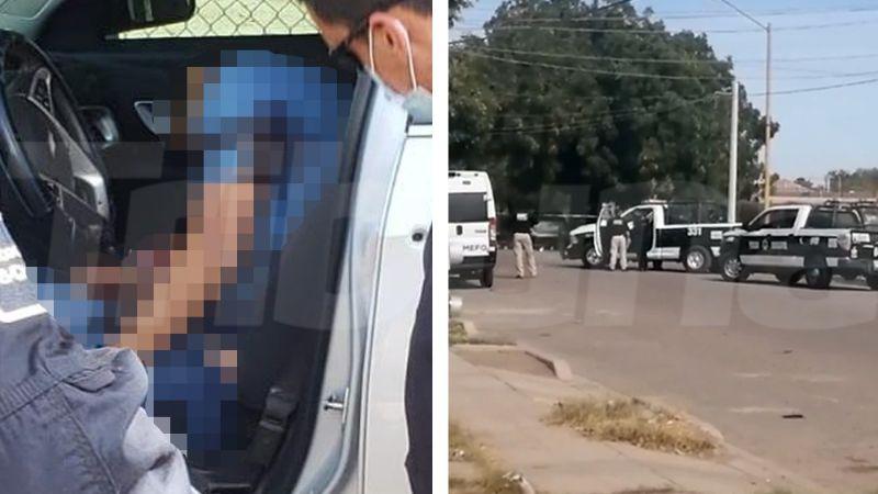 Tarde violenta en Ciudad Obregón: Ejecutan a tiros a joven conductor a bordo de vehículo