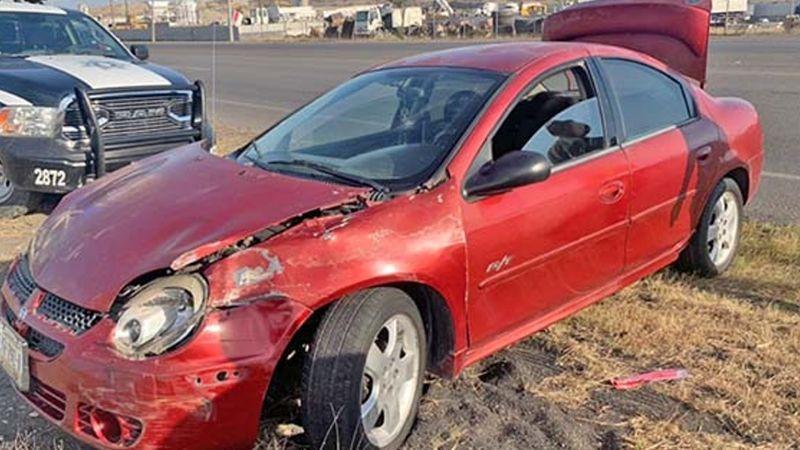 Trágico accidente: Joven chofer pierde la vida tras volcar su auto en carretera de Sonora