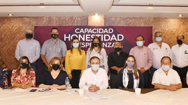 ¡Durazo no da una! Discurso del candidato a la gubernatura de Sonora no convence a empresarios