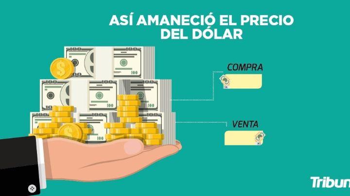 Precio del dólar para hoy viernes 16 de abril del 2021 al tipo de cambio actual