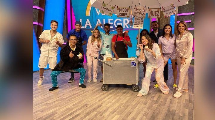Conductor de 'Venga la Alegría' es sorprendido al aire en TV Azteca; será padre