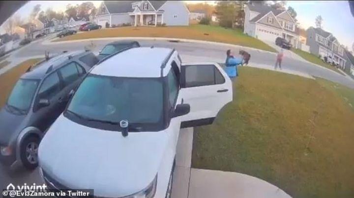 VIDEO: Gato montés ataca a una mujer y la increíble reacción de su esposo se vuelve viral