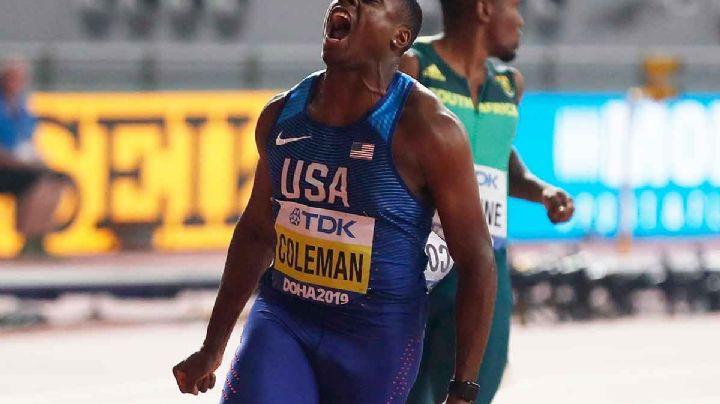 El 'Sucesor de Usain Bolt', Christian Coleman se perderá los Juegos Olímpicos de Tokio