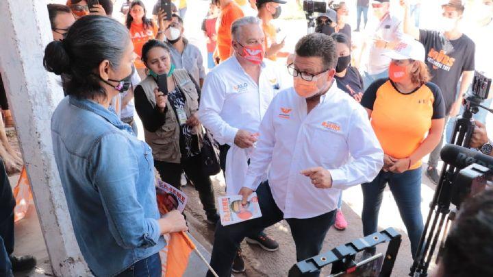 Sonora: Ricardo Bours escucha problemas de la ciudadanía de Cajeme