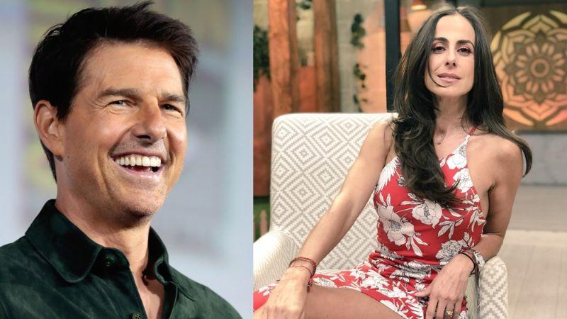 Desde Imagen TV, famosa conductora de 'Sale el Sol' confiesa romance con Tom Cruise