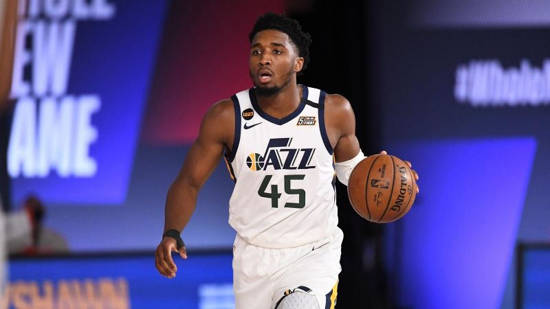 Jazz de Utah vence a los Pacers pero pierde a su estrella Donovan Mitchell
