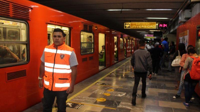 De no creerse: Usuaria del STC Metro muerde a mujer policía