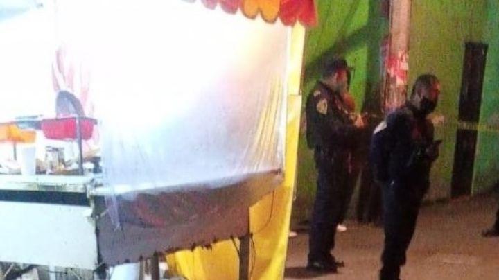 Ajuste de cuentas: A tiros asesinan a un taquero en CDMX durante la madrugada