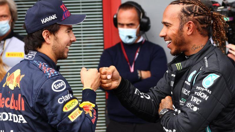 El mexicano 'Checo' Pérez saldrá segundo para el GP de Emilia-Romaña de la F1