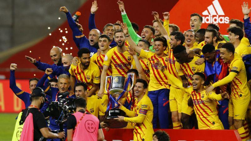 ¡Rey de copas! Barcelona golea al Athletic de Bilbao y levanta su trofeo número 31 de este torneo