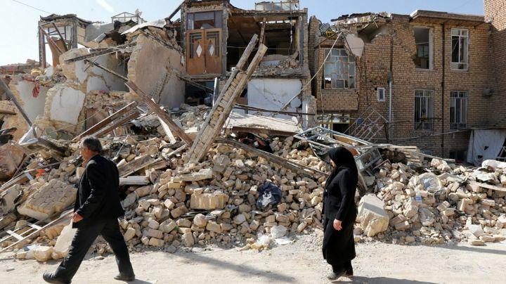 Sismo de magnitud 5.9 grados sacude a Irán; reportan al menos 5 heridos y grandes daños