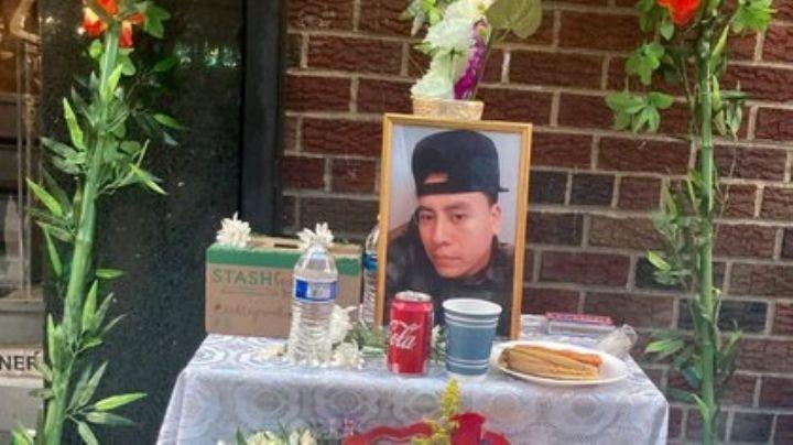 Asesinan a tiros a repartidor mexicano en Nueva York; migrantes se manifiestan indignados