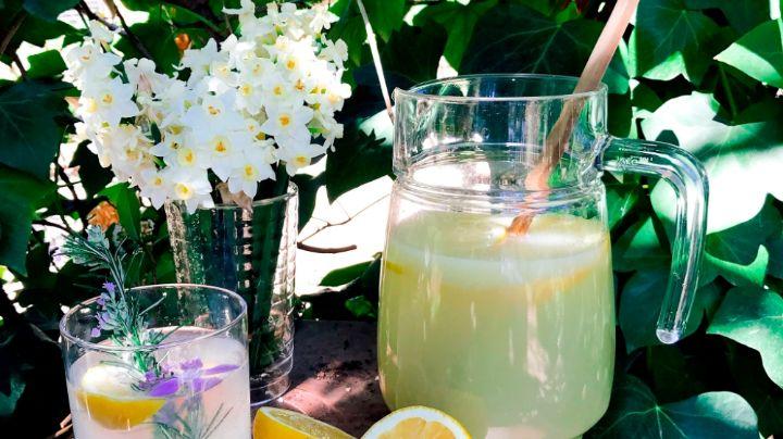 ¡Refréscate! Este frappé de limón con hierbabuena hará que te olvides del calor