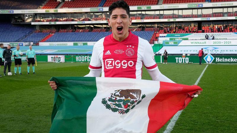 ¡Van por la liga! El mexicano Edson Álvarez y el Ajax se coronan campeones de la KNVB Cup