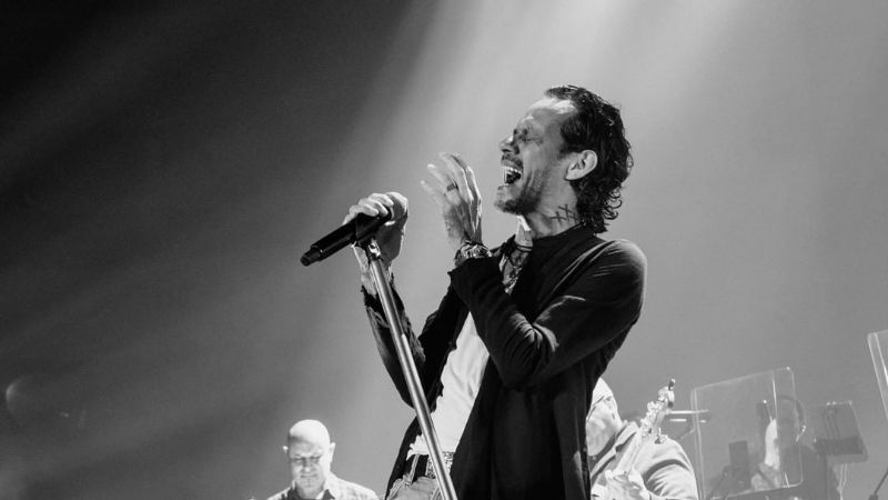 """""""Les reembolsaré el dinero"""": Marc Anthony se disculpa por fallas técnicas en su concierto"""