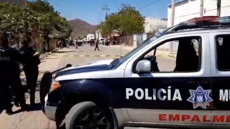 Sangriento domingo en Empalme: Sicarios irrumpen en vivienda y ultiman a tiros a hombre