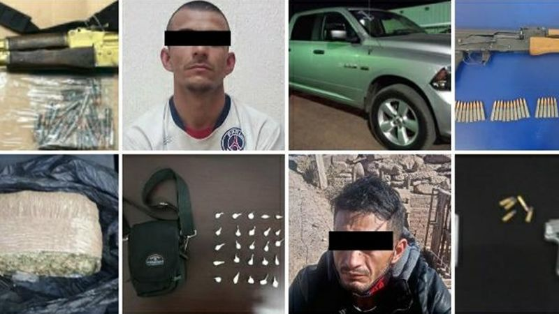 Combate al narco en Sonora: Capturan a 69 delincuentes e incautan 104 mil 539 dosis de droga