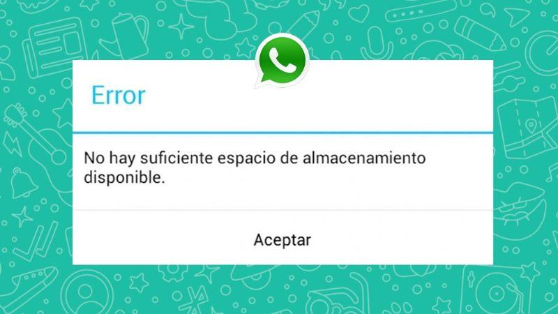 ¿Falta de almacenamiento en tu smartphone? Evita que WhatsApp descargue tantos archivos