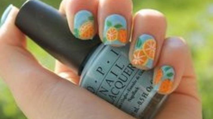 Lleva la frescura de las frutas con estos lindos diseños de uñas