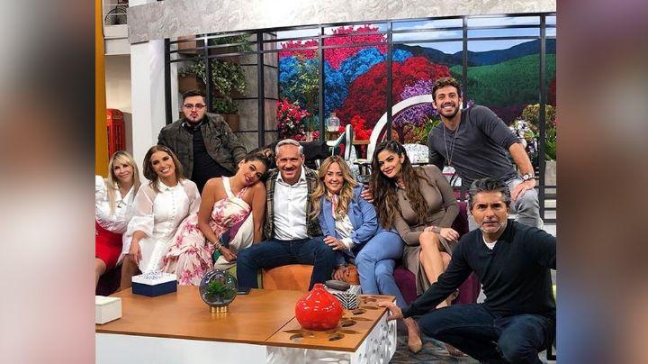 """""""Los reyes"""": Lambda García presume a su """"pareja"""" en 'Hoy' y así reacciona Televisa"""