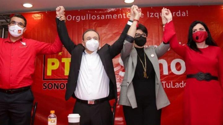 Sonora: Partido del Trabajo no ha reportado los gastos de campaña de Alfonso Durazo