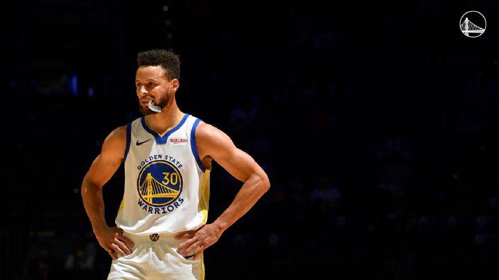 ¡El 'Chef' está 'on-fire'! Curry anota 49 puntos y Warriors vencen a los 76ers