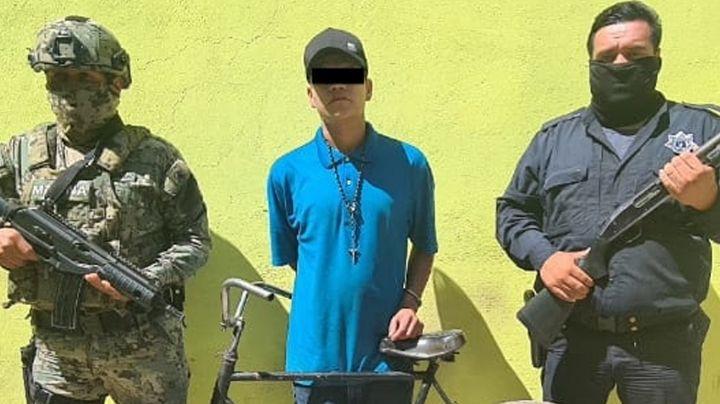 Cae ladrón de 19 años en calles e Ciudad Obregón; está acusado de varios asaltos a tiendas