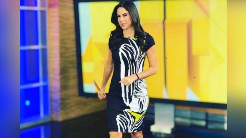 Paola Rojas pone de cabeza a Instagram al modelar radiante vestido desde foros de Televisa