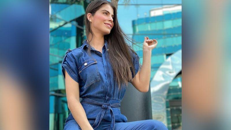 Esmeralda Ugalde enamora a TV Azteca al posar en entallado 'outfit' deportivo