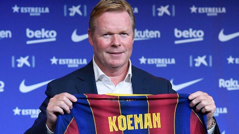 Ronald Koeman sería ratificado como entrenador del FC Barcelona