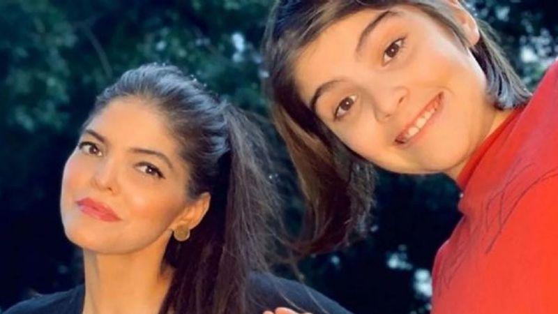 """""""¡Qué poca!"""": Ana Bárbara hace estallar a su hijo 'Chemita' por hacer este VIDEO"""
