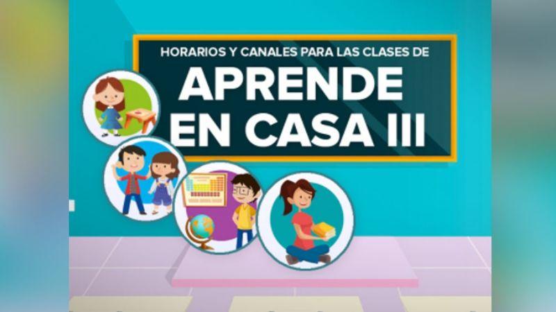 Aprende en casa: Estos son los horarios de clases de la SEP del 19 al 25 de abril