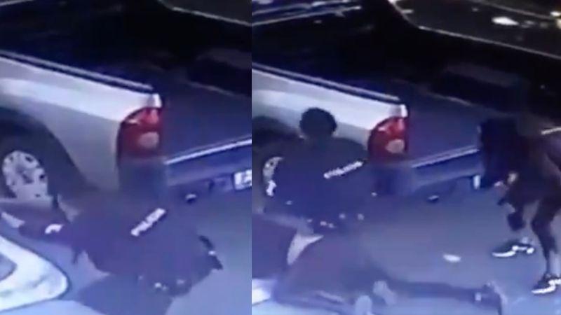 VIDEO: Así se desató brutal balacera entre policías y sicarios en Guadalajara; hay dos muertos