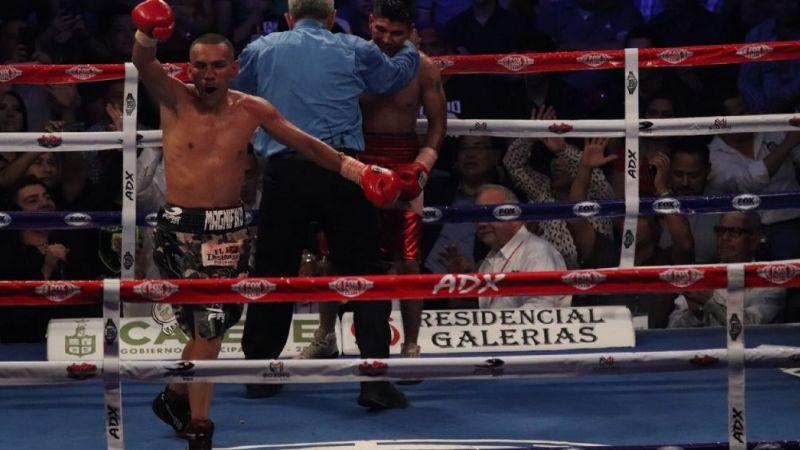 El 'Magnífico' Díaz no baja la guardia y espera regresar al ring el 30 de abril