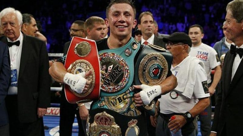 Golovkin en negociaciones para medirse ante un campeón mundial