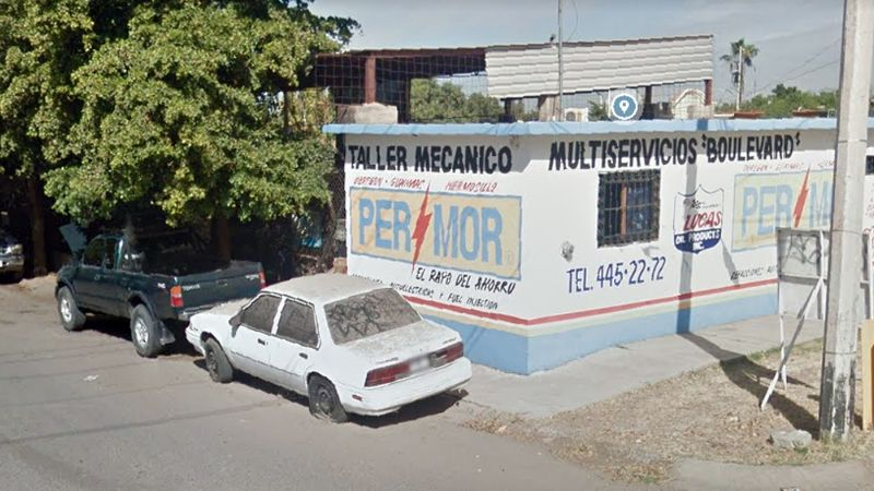 Acribillan a joven frente a taller mecánico en Cajeme; se encuentra grave en el hospital