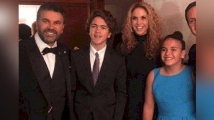 Lucero filtra inédita foto con sus hijos Lucerito y Manuelito y deja en shock a todo Instagram