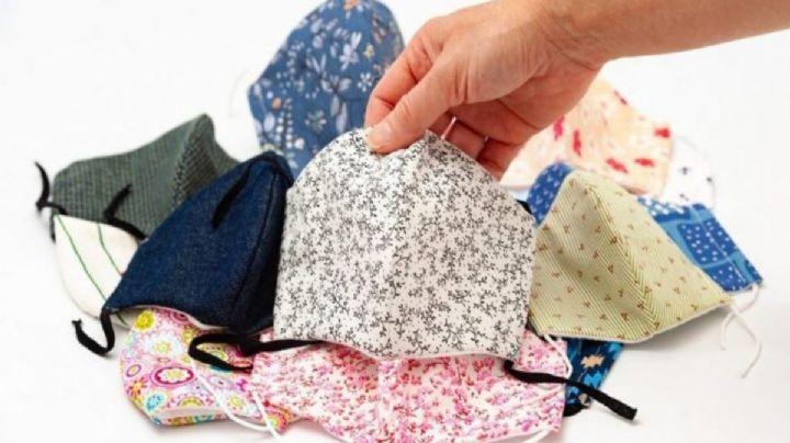 ¡Sí sirve! Estas son las nuevas recomendaciones de la OMS para usar cubrebocas de tela
