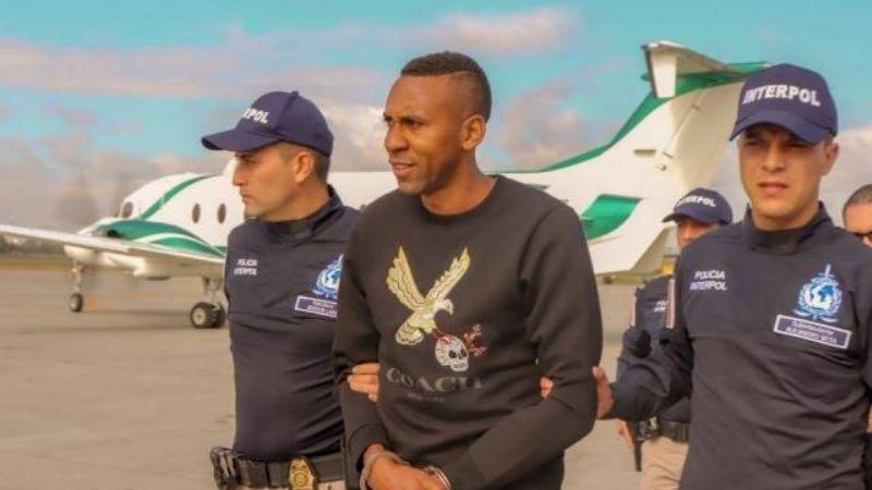 Cae el exfutbolista Jhon Viáfara por narcotráfico; le dan más de 11 años de prisión